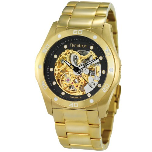 Armitron Men's Gold-Tone Automatic Dress Watch #20-4406GPGP