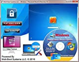 Windows 7 Professional Password Reset CD Disc - Remove Forgotten Passwords Fast - Works on Windows 7 Professional 32-Bit & 64-Bit