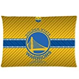 Green-Store Custom Golden State Warriors Yellow Background Home Decorative Pillowcase Pillow Case Cover 20*30 Two Sides Print
