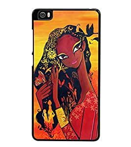 Village Girl 2D Hard Polycarbonate Designer Back Case Cover for Xiaomi Mi 5 :: Redmi Mi5