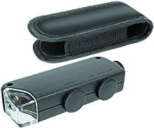 Comprar Bresser 6933500 - Microscopio de bolsillo (zoom óptico de 100x,) negro