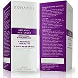 Best Anti Aging Cream with Matrixyl 3000 for Wrinkles and Fine Lines From Bonapiel Skin Care Products - Vitamin C Facial Moisturizer and Hyaluronic Acid Night Serum Oil Free to Look Younger and Feel Younger