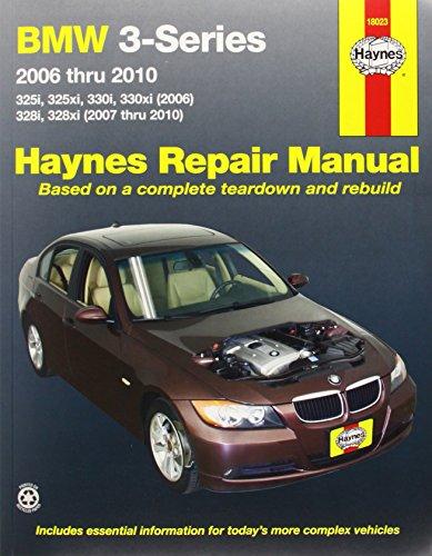 BMW 3-Series Automotive Repair Manual: 2006-2010 (Haynes Automotive Repair Manuals)