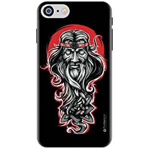 Printland Designer Back Cover for Aplle iPhone 7 - Scarry Face Cases Cover