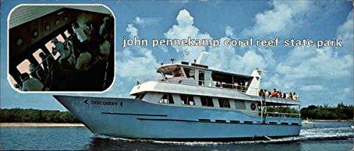 John Pennekamp Coral Reef State Park Key Largo, Fl Original Vintage Postcard