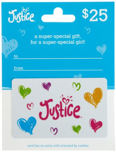 Justice/ Limited Too Gift Card $25