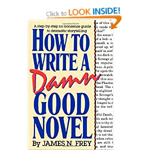 Image: Cover of How to Write a Damn Good Novel: A Step-by-Step No Nonsense Guide to Dramatic Storytelling by James Frey