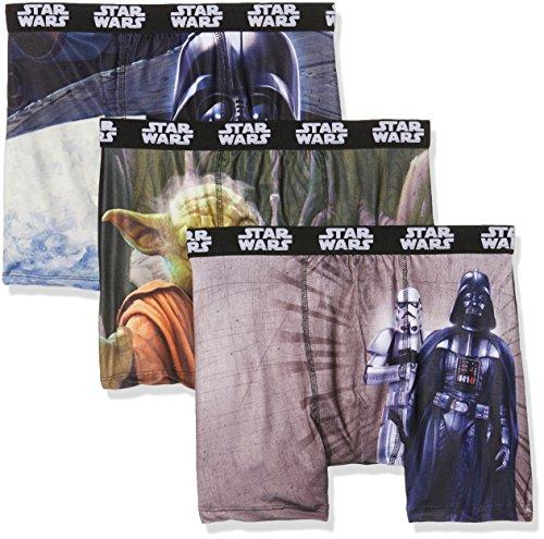 Star Wars Sw/Am/1/Pk3, Boxer Uomo, Multicolore (Multicolor/A4), X-Large, (pacco da 3)
