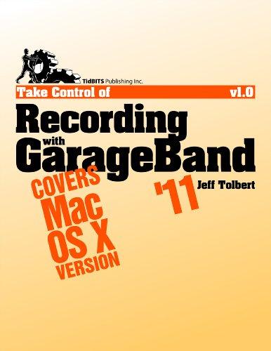 Take Control Of Recording With Garageband '11