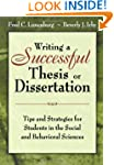 Writing a Successful Thesis or Disser...