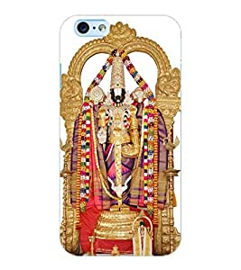 ColourCraft GOD Tirupati Balaji Design Back Case Cover for APPLE IPHONE 6S
