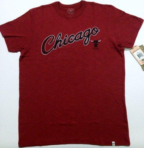 Nba Chicago Bulls Men'S Scrum Basic Tee, Rescue Red, Xx-Large