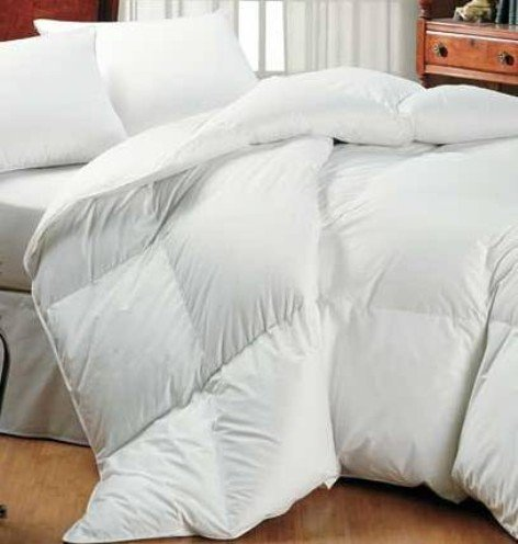 Homescapes Luxury White Duck Feather  &  Down - All Seasons - Double Duvet - 9 Tog + 4.5 Tog - 100% Cotton Anti Dust Mite  &  Down Proof Fabric - Anti Allergen - Box Baffle Construction - Washable at Home Range