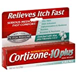 Cortizone-10 Anti-Itch Creme Plus Healing Moisturizers, Maximum Strength, 1 oz.