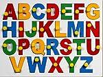 Little Genius Little Genius English Alphabets Uppercase with Knob