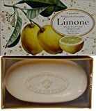 Saponificio Artigianale Fiorentino Limone Italian Lemon Citrus Bath Soap 10.5 Oz