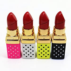 Uhome Lipstick Shape Cigarette Lighter 4 color can be choose