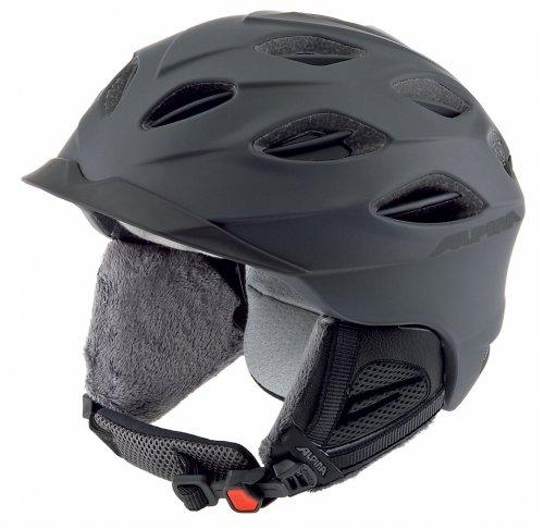 Skihelm Alpina SuperCybric black mat 54-58 Vorjahresmodell