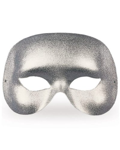Half Mask - Silver Cocktail Accessory - 1