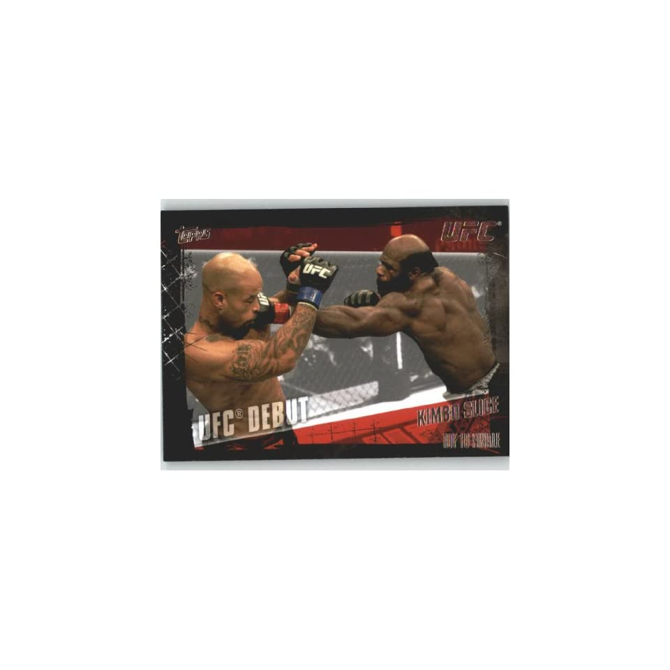 com 2010 Topps UFC Trading Card # 147 Kimbo Slice (Ultimate Fighting