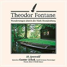 Spreewald (Wanderungen durch die Mark Brandenburg 10) Hörbuch von Theodor Fontane Gesprochen von: Gunter Schoß