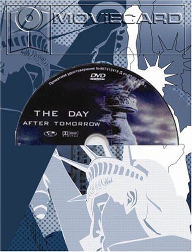 The Day After Tomorrow - Moviecard (Glückwunschkarte inkl. Original-DVD)