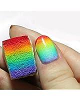 Fantastique Set Professionnel Nail Art Manucure de 3 Éponges Wedges / DÉGRADÉ à Stamping Pour Polish & Vernis Par VAGA