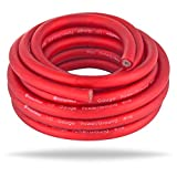 InstallGear 1/0 Gauge Ga Awg Red 25ft Power/Ground Cable True Spec and Soft Touch Wire