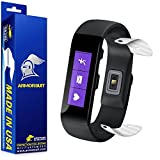ArmorSuit MilitaryShield - Microsoft Band Small (4M5-00001) Battery Covers ONLY White Carbon Fiber Skin Protector with Lifetime Replacements