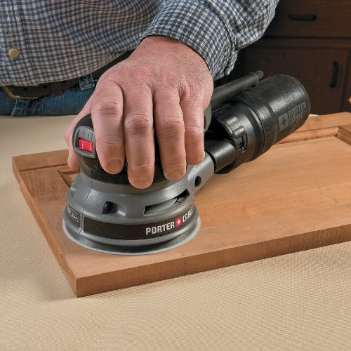 Porter-Cable 390K 5-Inch Low Profile Random Orbit Sander Kit with Hook & Loop Pad and Dust Collection
