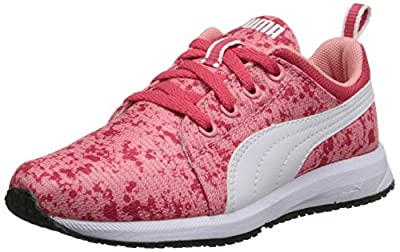 PUMA Carson Runner JR Splatter Running Sneaker(Little Kid/Big Kid) by Puma Kids Footwear