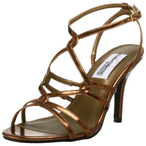 Dyeables Women's Runway Sandal,Bronze,5 M