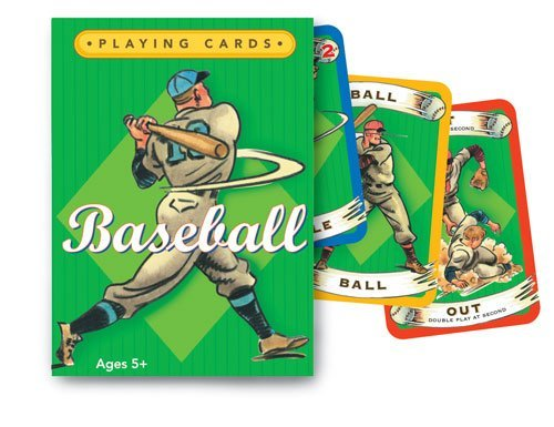 eeBoo Baseball Playing Cards