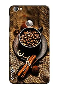 Omnam Coffee Beans In A Wooden Cup Printed Designer Back Cover Case For LeTv Le 1s