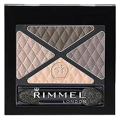Rimmel Glam Eyes Quad Eye Shadow, English Breakfast, 0.15 Fluid Ounce