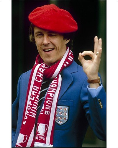 Photographic Print of Phil Neal from Liverpool FC Pictures