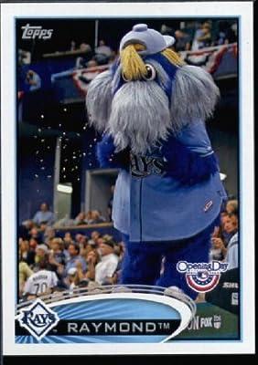 2012 Topps Opening Day Mascots Baseball Card #M -6 Raymond - Tampa Bay Rays - MLB Trading Card