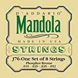 D'Addario Mandola Strings Set, J76 Phosphor Bronze
