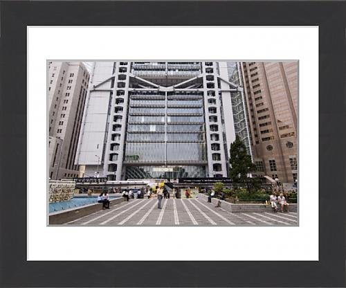 framed-print-of-statue-square-hsbc-building-central-district-hong-kong-china-asia
