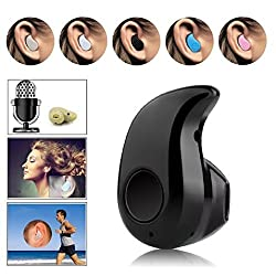 mini headset MKSD The Smallest Music Phone Calls bluetooth Hands-free Stereo Mini Bluetooth 4.0 Headset Earphone Earpiece Earbuds Headphones for Apple,LG,Samsung,Blu,HTC,SONY , iPad(black)