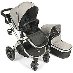 Babyroues Letour Avant Canvas Stroller - Retriever Tan/Silver