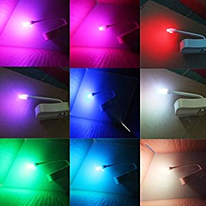 WC Toilet Night light Yowao Automatic Activation Motion Sensor LED light Lamp 8 Colors Changes by yowao-uk-tta