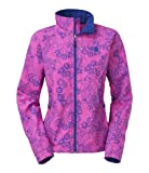 The North Face Women's Apex Bionic Jacket Large Azalea Pink Night Dew Print