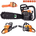 58cc Petrol Chainsaw with TWO Oregon...