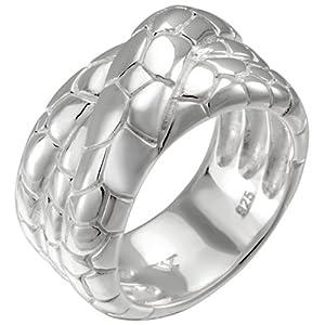 Vinani Jewelry - RSD52 - Bague Femme - Argent 925/1000 - T 52 (16.6)