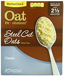 Better Oats Oat Revolution Steel Cut, Classic, 11.6oz (Pack of 6)