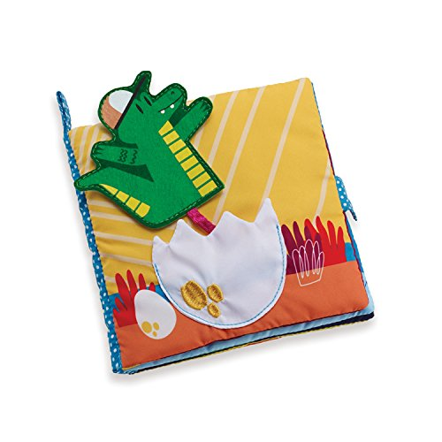 Manhattan Toy Been a While Crocodile Soft Activity Book