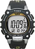 Timex Men's Ironman T5E231 Black Resin Quartz Watch with Digital Dial