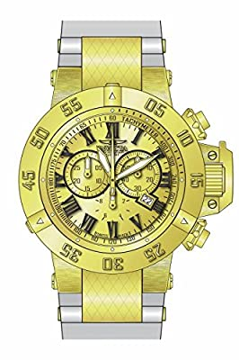 Invicta Men's 16874 Subaqua Quartz Chronograph Gold Dial Watch [Watch] Invicta