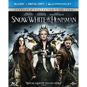 Snow White and the Huntsman (Blu-ray + Digital Copy + UV Copy)[Region Free]